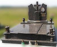 Эксклюзивный двойной гранитный надгробный памятник  Модель  D-06