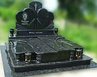 Эксклюзивный двойной гранитный надгробный памятник  Модель  D-07