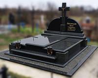 Эксклюзивный двойной гранитный надгробный памятник  Модель  D-08