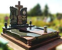 Эксклюзивный двойной гранитный надгробный памятник  Модель  D-10