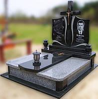 Эксклюзивный двойной гранитный надгробный памятник  Модель  D-11