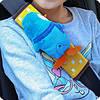 Накладка-подушка на ремень безопасности детская