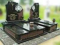 Эксклюзивный двойной гранитный надгробный памятник  Модель  D-12