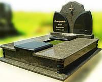 Эксклюзивный двойной гранитный надгробный памятник  Модель  D-14