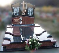 Эксклюзивный двойной гранитный надгробный памятник  Модель  D-17