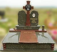 Эксклюзивный двойной гранитный надгробный памятник  Модель  D-19