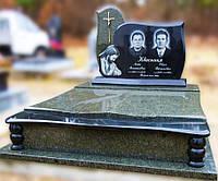 Эксклюзивный двойной гранитный надгробный памятник  Модель  D-20