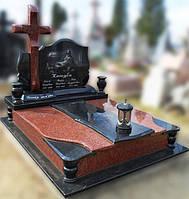 Эксклюзивный двойной гранитный надгробный памятник  Модель  D-23
