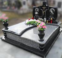 Эксклюзивный двойной гранитный надгробный памятник  Модель  D-24