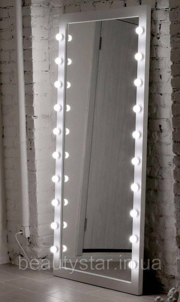 Зеркало с подсветкой для парикмахерских  M603 LUKAS