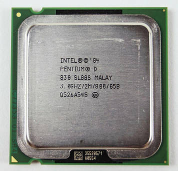 Процессор Intel Pentium D 830 3.0GHz/2M/800 (SL88S) s775, tray