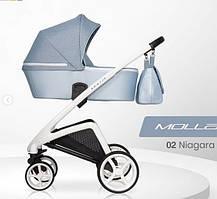 Дитяча універсальна коляска  Riko Molla 02 Niagara (Люлька+рама) Ріко Молла 02 (Голуба)