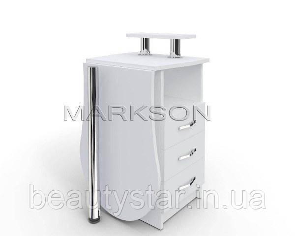 """Стол для маникюра M102 K """"Эстет №2"""" компактный маникюрный столик для не большого маникюрного кабинета"""