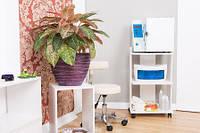 Тележка парикмахерская ДСП открытого типа: М210 тележка для салонов красоты, столик под стерилизаторы
