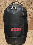 Рюкзак Supreme отверстием для наушников Новый стиль/Рюкзак спорт городской спортивны стильный только оптом, фото 2
