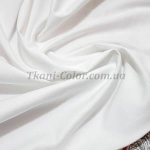 Ткань коттон стрейч белый