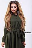 Сукня сорочка міді, фото 2