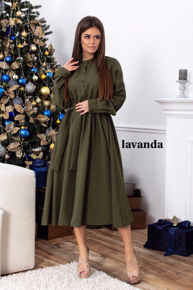 Сукня сорочка міді