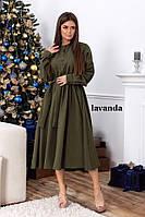 Платье рубашка миди, фото 1