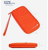 Органайзер для документов большой Travelus Big 25,5х15х2 см Оранжевый (01061/06), фото 1