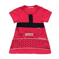 Летнее платье для девочки. 92, 104 см