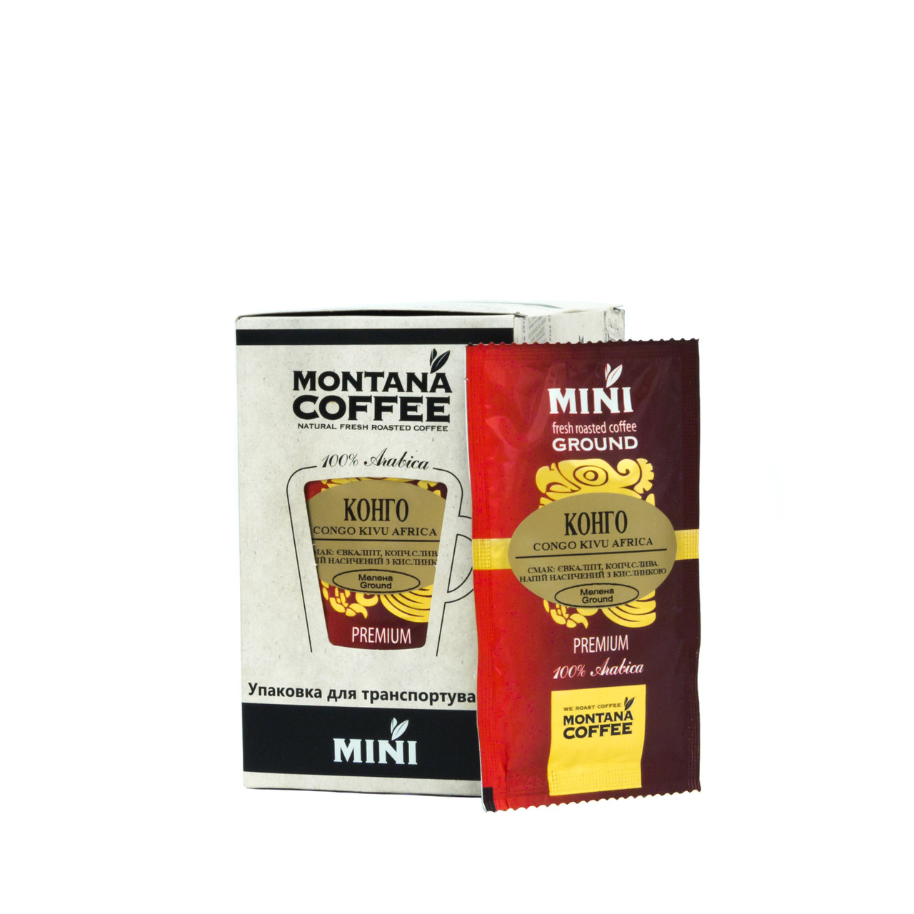Конго Kivu Montana coffee MINI 20 шт