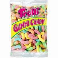 Желейные конфеты Trolli Червяки в сахаре Германия 1000 г