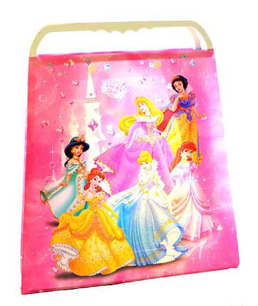 """Пакет подарочный пластиковый """"Принцессы"""", фото 2"""