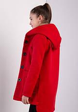 Детское пальто демисезонное для девочки Мила, размеры 134-152, фото 3