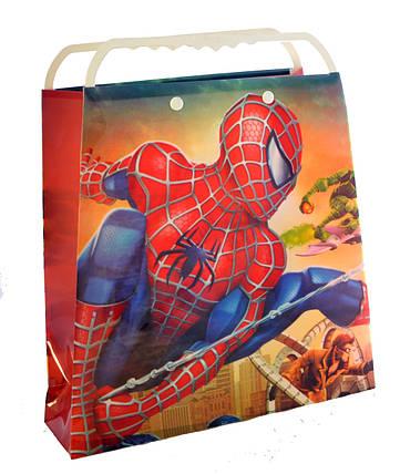"""Пакет подарочный пластиковый """"Человек Паук"""", фото 2"""