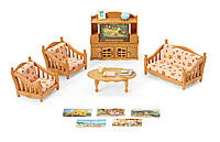 Игровой набор Комфортная Гостиная Calico Critters Comfy Living Room