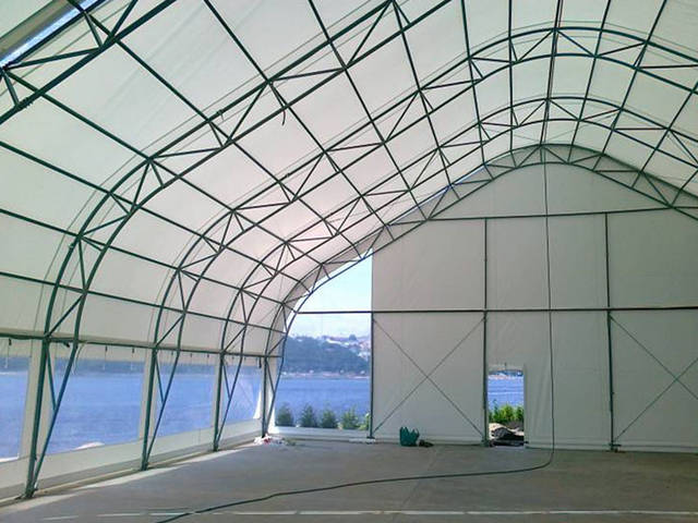Строительство крытых и открытых теннисных кортов 1
