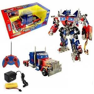 Трансформер «Оптимус Прайм», высококачественная игрушка для ребенка