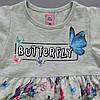 """Летнее платье """"Бабочки"""" для девочки. 98, 104, 122 см, фото 3"""