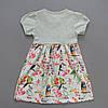 """Летнее платье """"Птички"""" для девочки. 98, 104, 116 см, фото 2"""