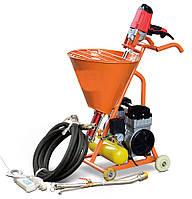 Агрегат со шнековым насосом и встроенным компрессором (нанесение шпаклевки, гидроизоляции, растворов)