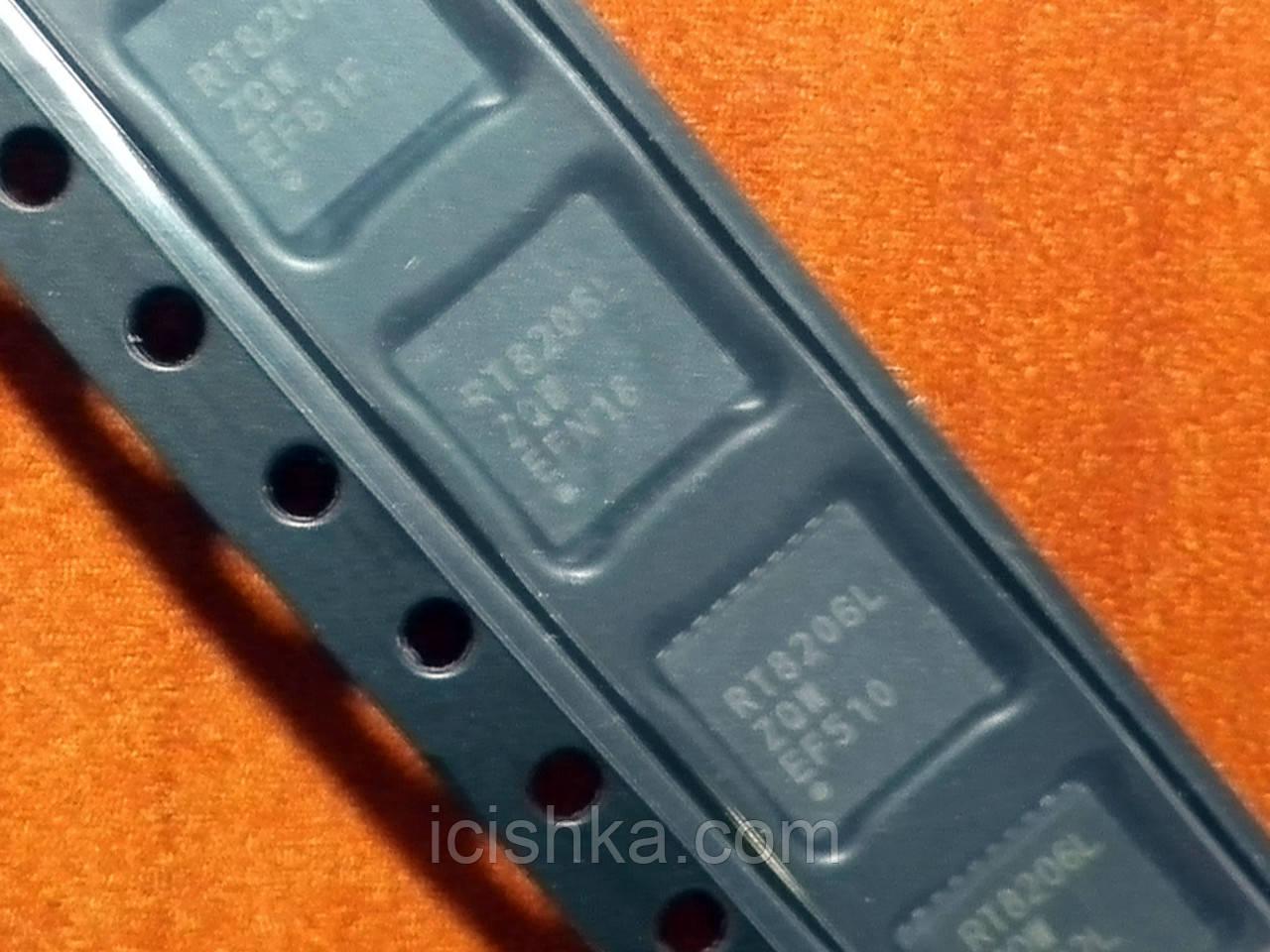 RT8206L / RT8206LZQW WQFN-32L контроллер питания