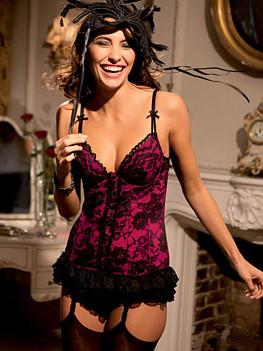 Женское эротическое белье - пеньюары, чулки, колготки, платья и боди
