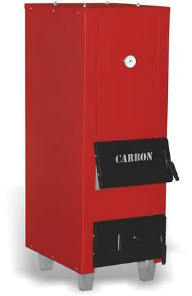 Котел твердотопливный Carbon КСТО-30М длительного горения, фото 2
