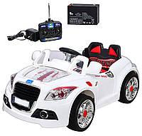 Электромобиль Audi одноместный белый