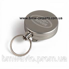 Вытяжной шнурок для бейджа Land Rover Retractable Lanyard, Silver