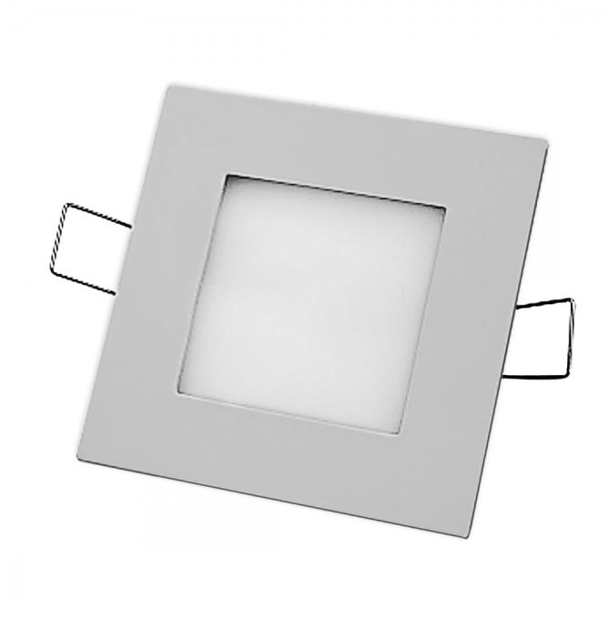 Светодиодная LED панель 7 Вт 4000К серебро Navigator