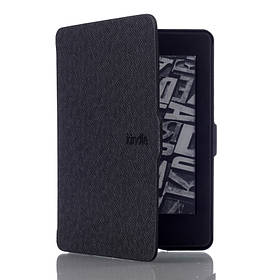 Чохол обкладинка для Amazon Kindle Paperwhite 2012 2013 2015 2016 DP75 EY21 автосон чорний