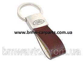 Брелок Land Rover Leather Loop Keyring Brown