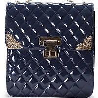 Женская сумка CHANEL синего цвета