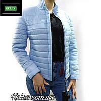 Куртка весна-осень голубая