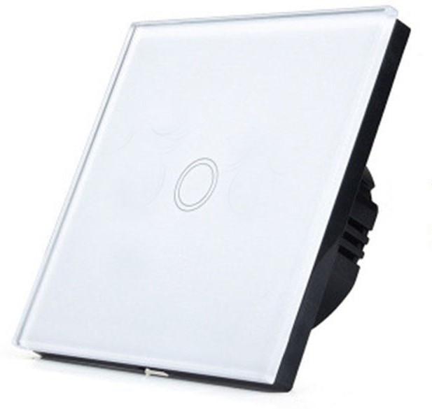 Сенсорный выключатель  цвет белый