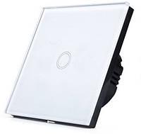 Сенсорный выключатель  цвет белый, фото 1