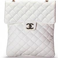 Женская сумка CHANEL  белого цвета