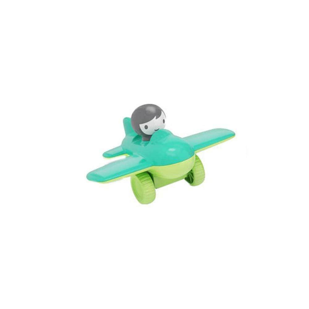 Игрушка Kid O Первый Мини Самолет зеленый с героем (10473_1)